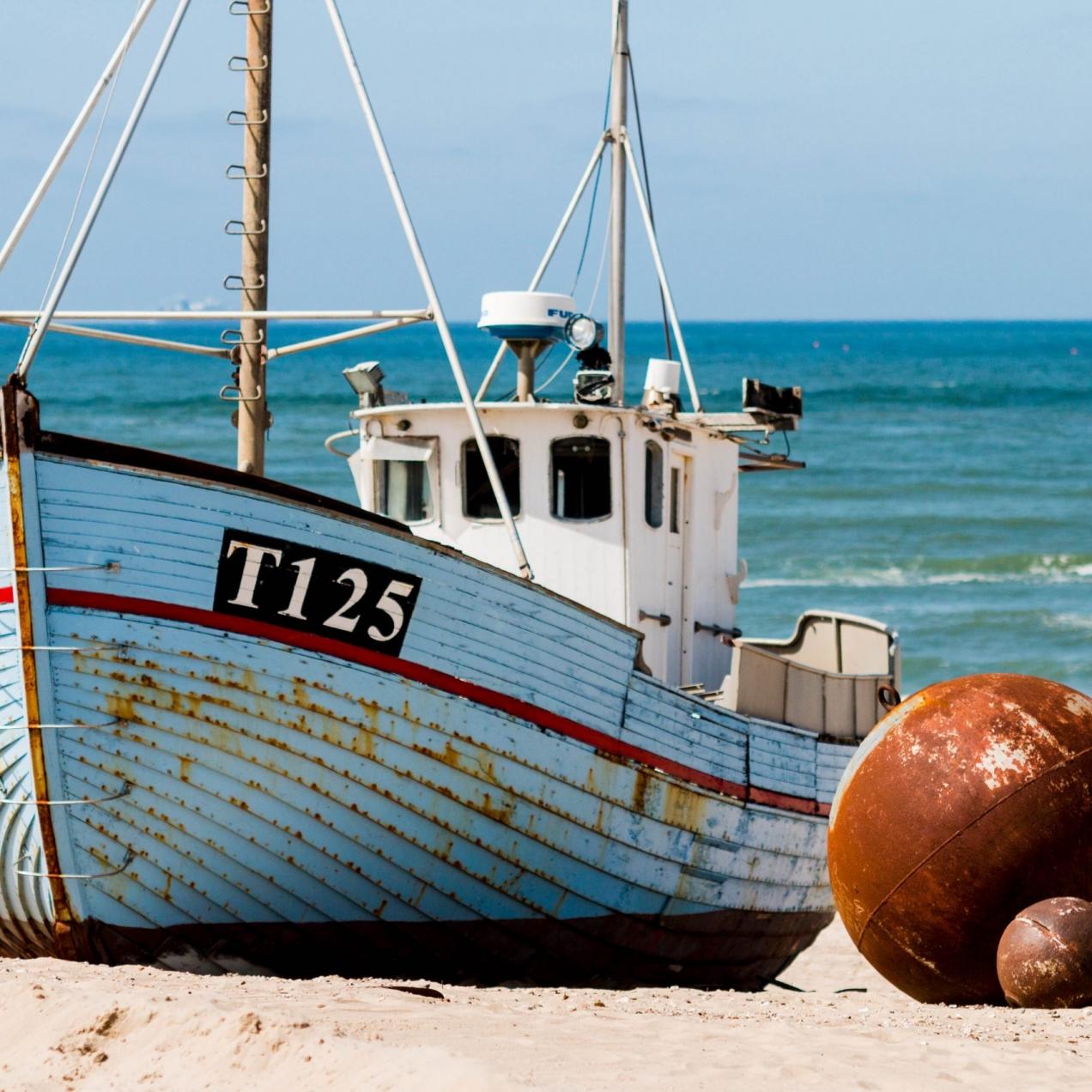 Cutter ashore