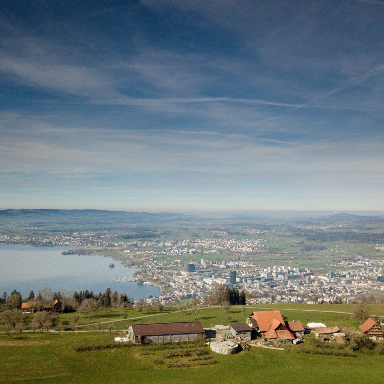 Overlooking Zug